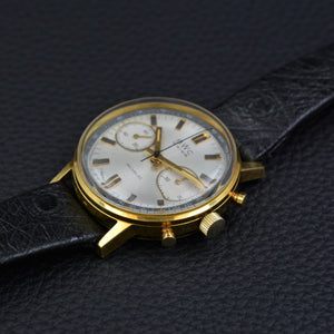 BWC Swiss 750 Gold Chronograph Mint