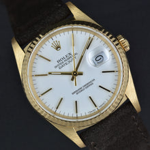 Load image into Gallery viewer, Rolex Datejust 16238 18k