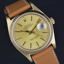 Load image into Gallery viewer, Rolex Datejust 16018 18k