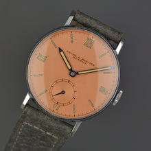 Load image into Gallery viewer, Baume & Mercier NOS Salmon Dresswatch