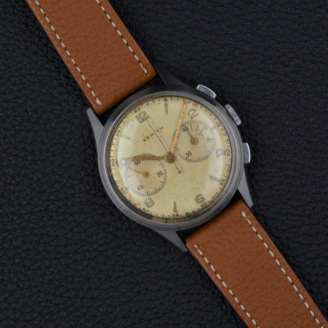 Zenith Excelsior Park Cal. 143 vintage Chronograph - ALMA Watches