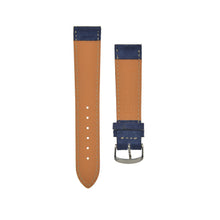 "Load image into Gallery viewer, Silky ""Suede"" Velours Watchstrap Navy Blue"