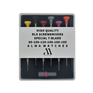 ALMA High Quality Screwdriver Set RLX