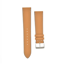 "Load image into Gallery viewer, Smooth ""Zermatt"" Calfskin Watchstrap Cognac"