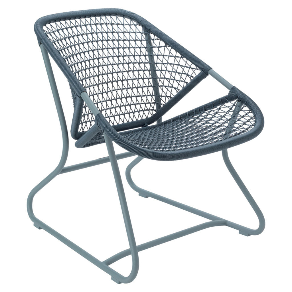 Fermob Sixties Outdoor Low Armchair in Storm Grey