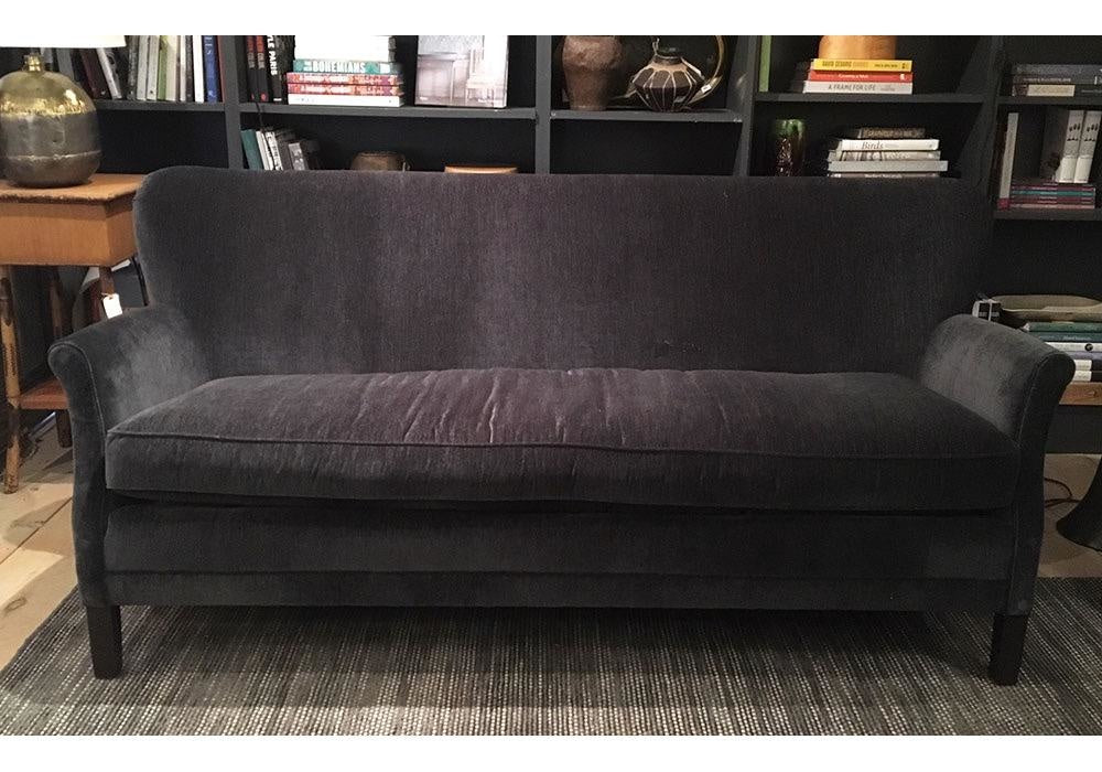 Pippa Apartment Sofa in Everest Peppercorn by Lee Industries
