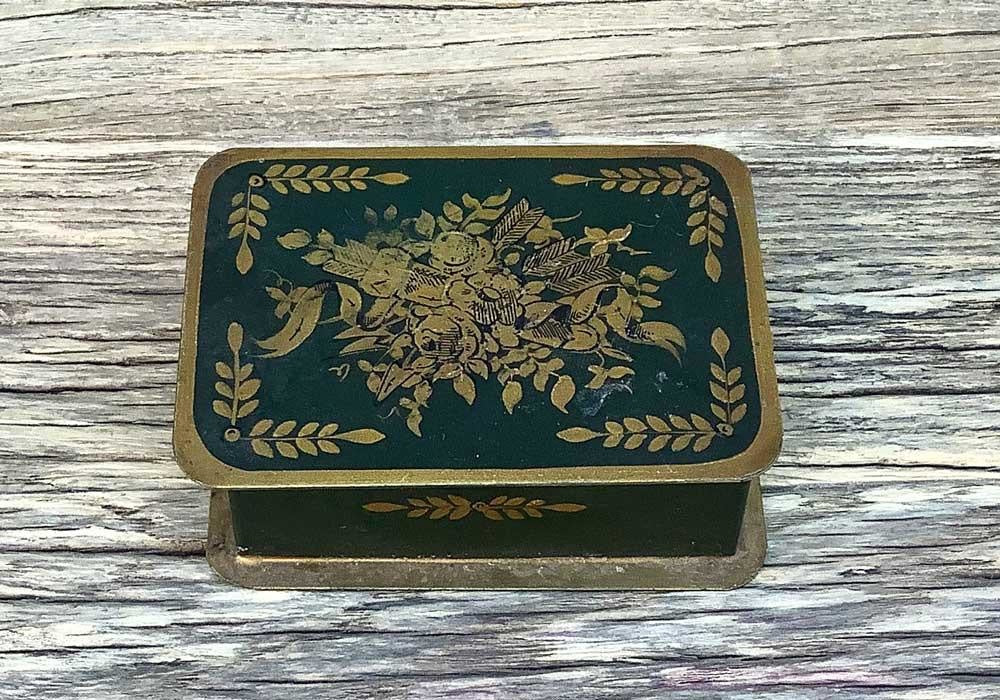 Vintage French Tin, A
