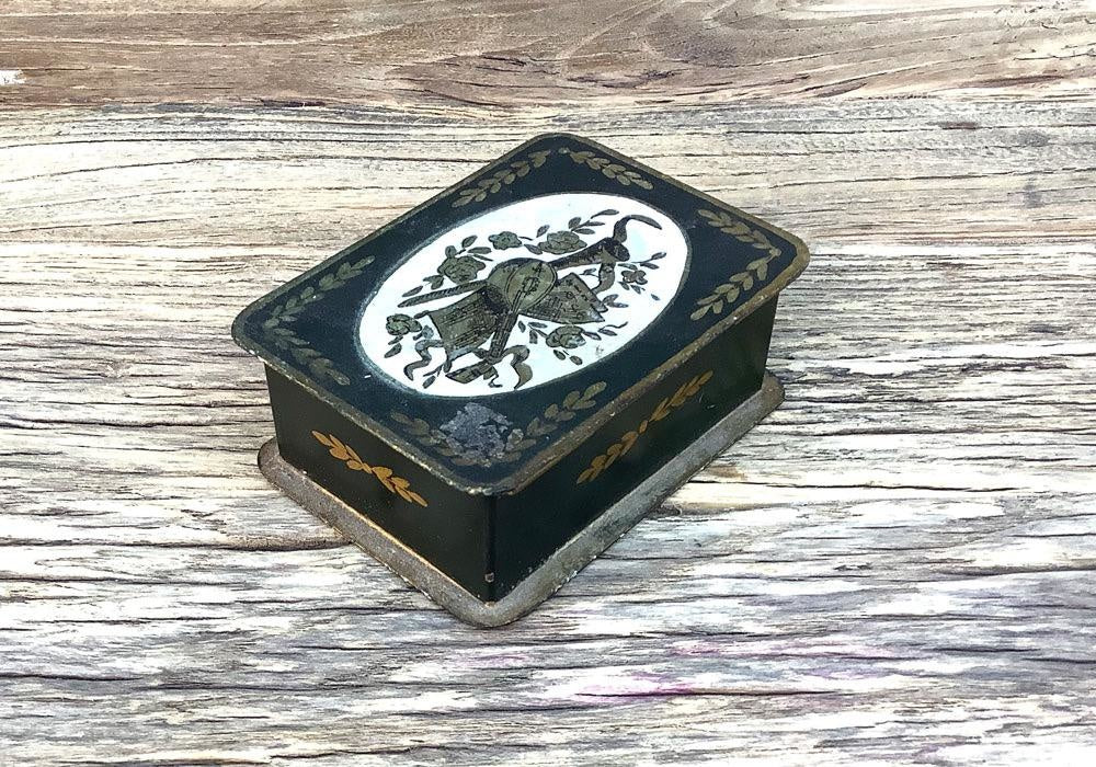 Vintage French Tin, C