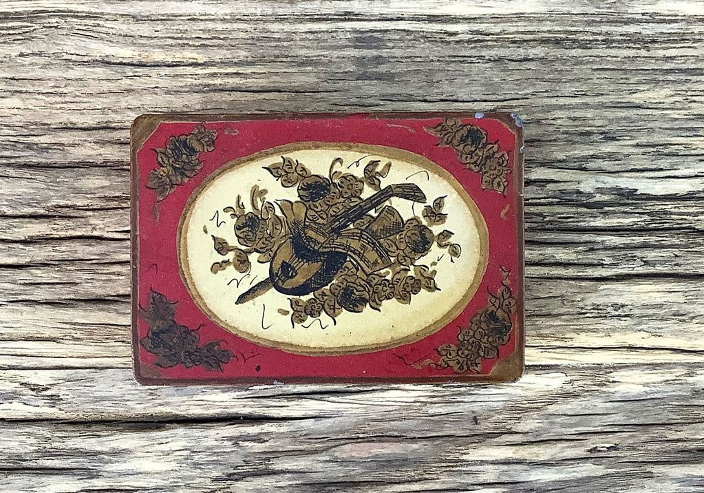 Vintage French Tin, D