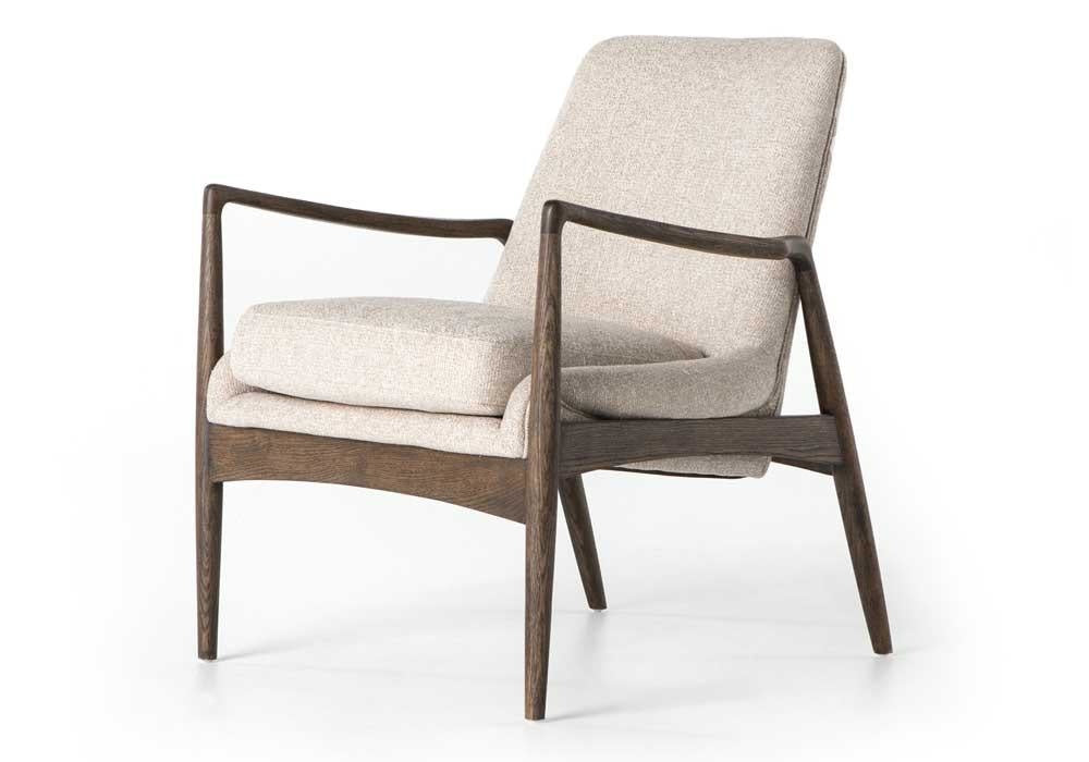 Brandon chair Upholstered in Light Camel