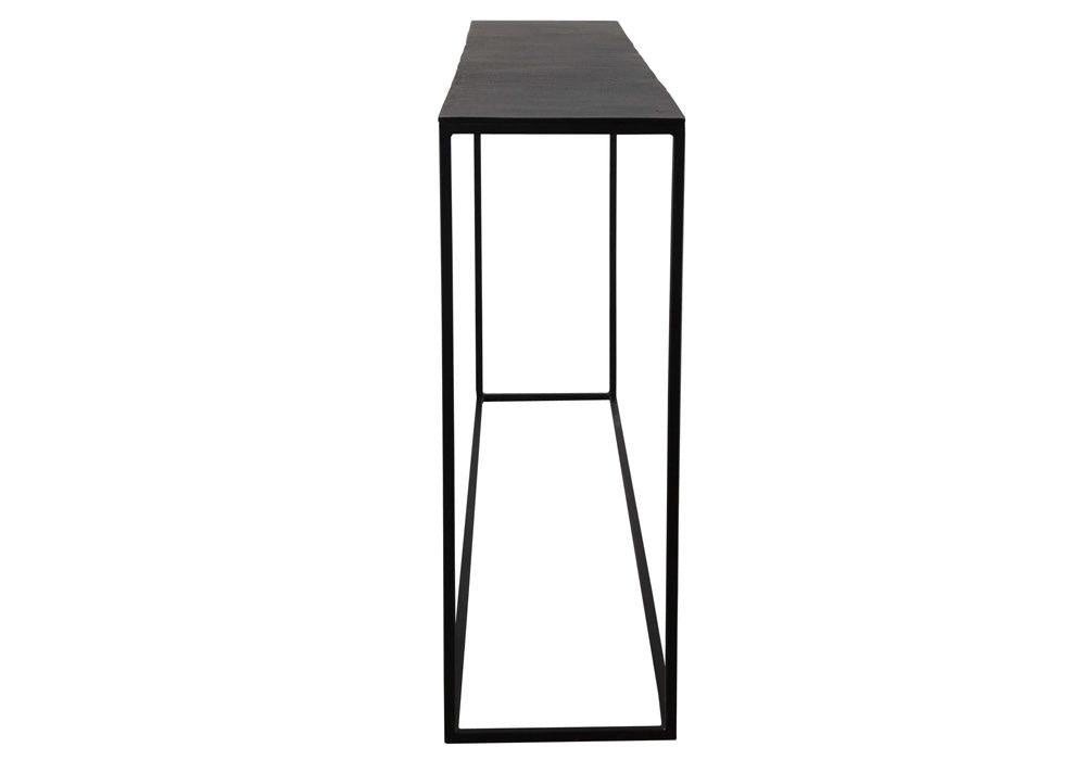"Colleen 64"" Iron and Aluminum Console"