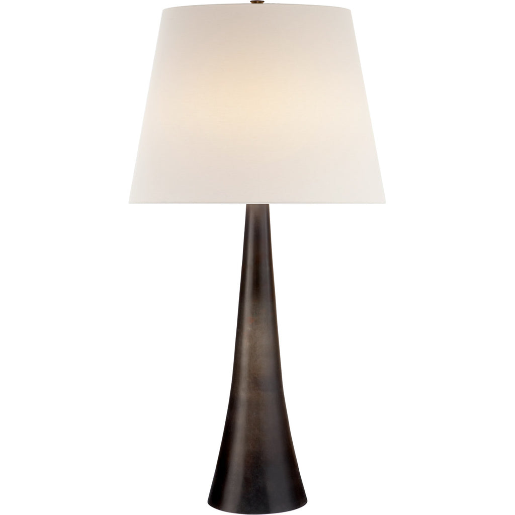 Dover Table Lamp in Aged Iron