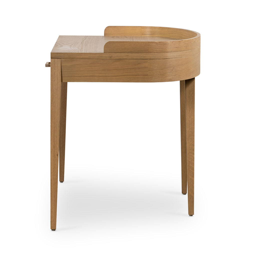 Andrew Desk in Burnished Oak