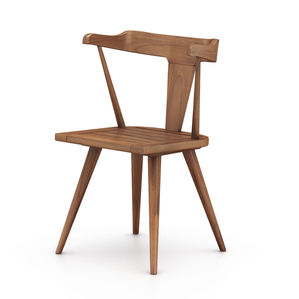Clint Indoor/Outdoor Dining Chair in Natural