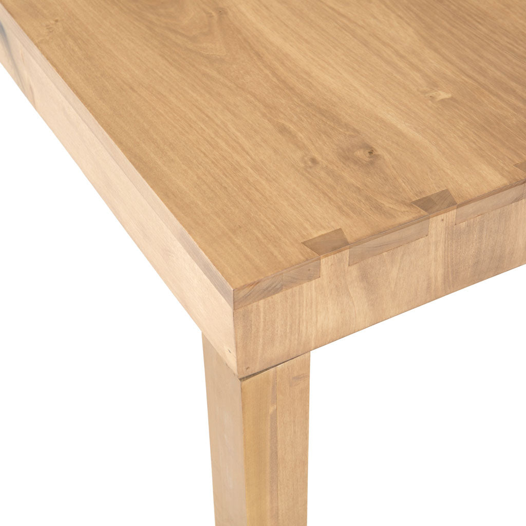 "Isabel 78"" Dining Table in Dry Wash Poplar"