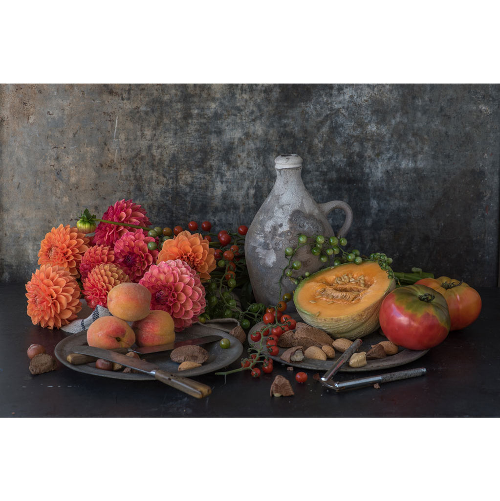Lynn Karlin's Still Life with Melon & Jug, Signed & Number Print