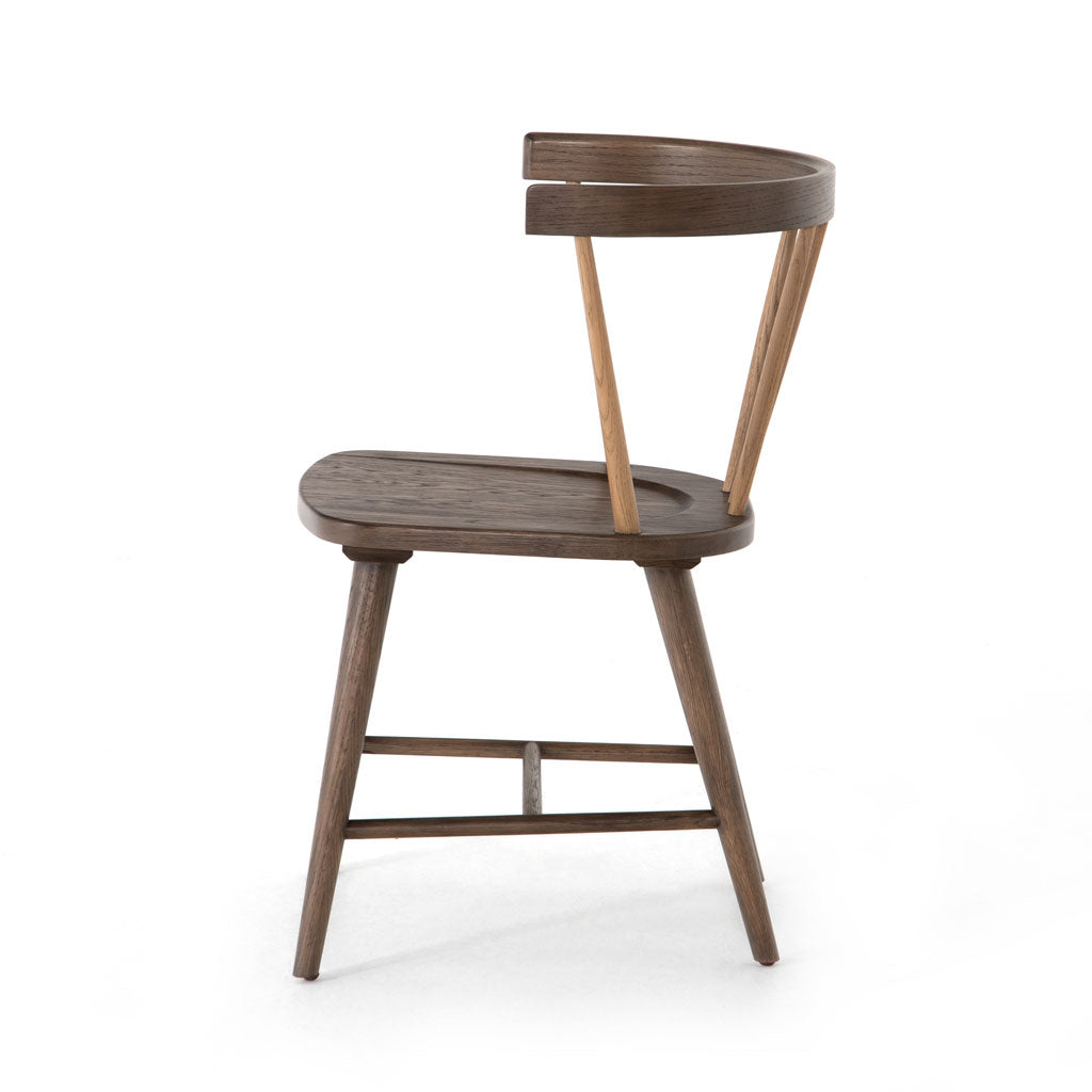 Nathan Dining Chair in Light Cocoa Oak