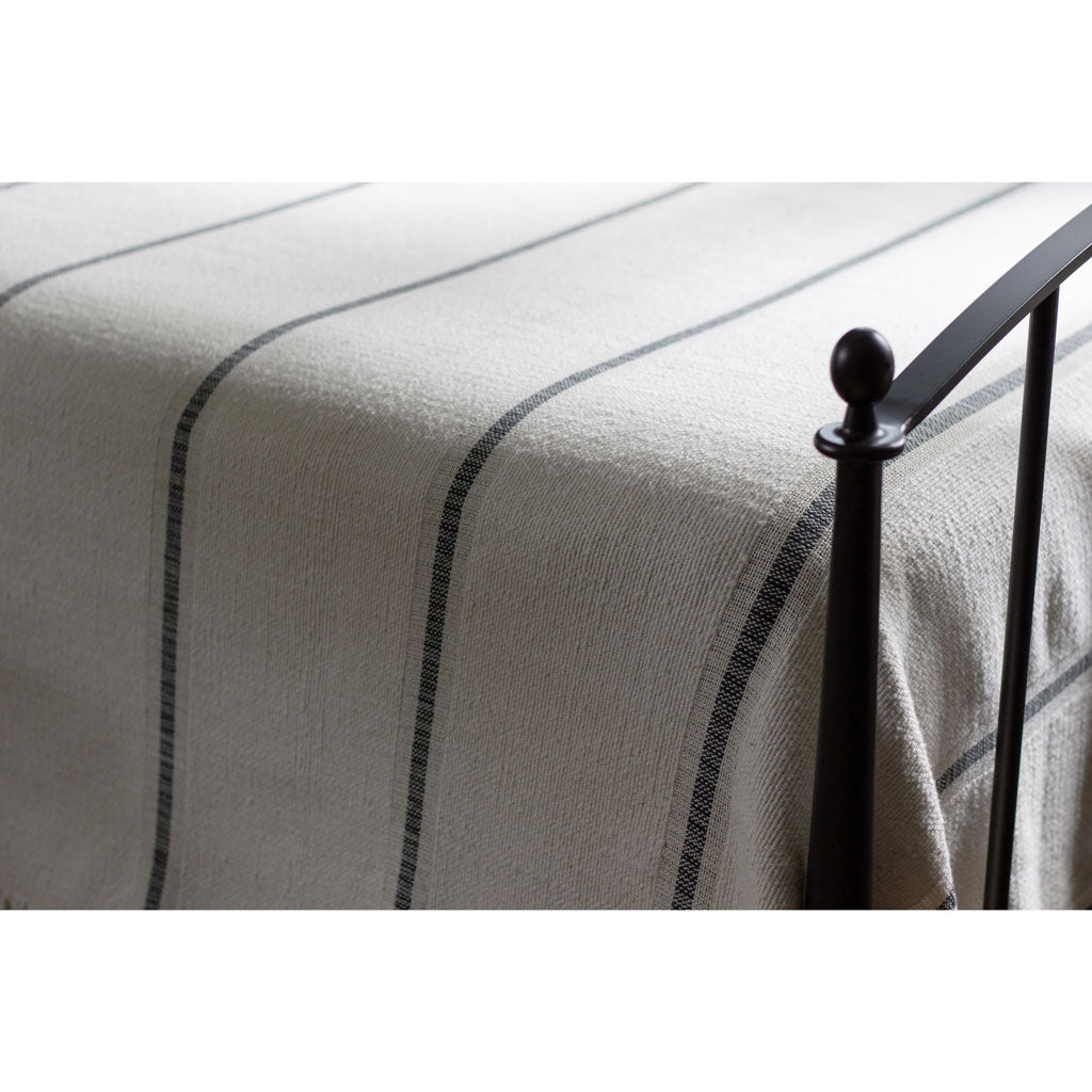 Heavyweight Poyvi Blanket in Olimpia Stripe