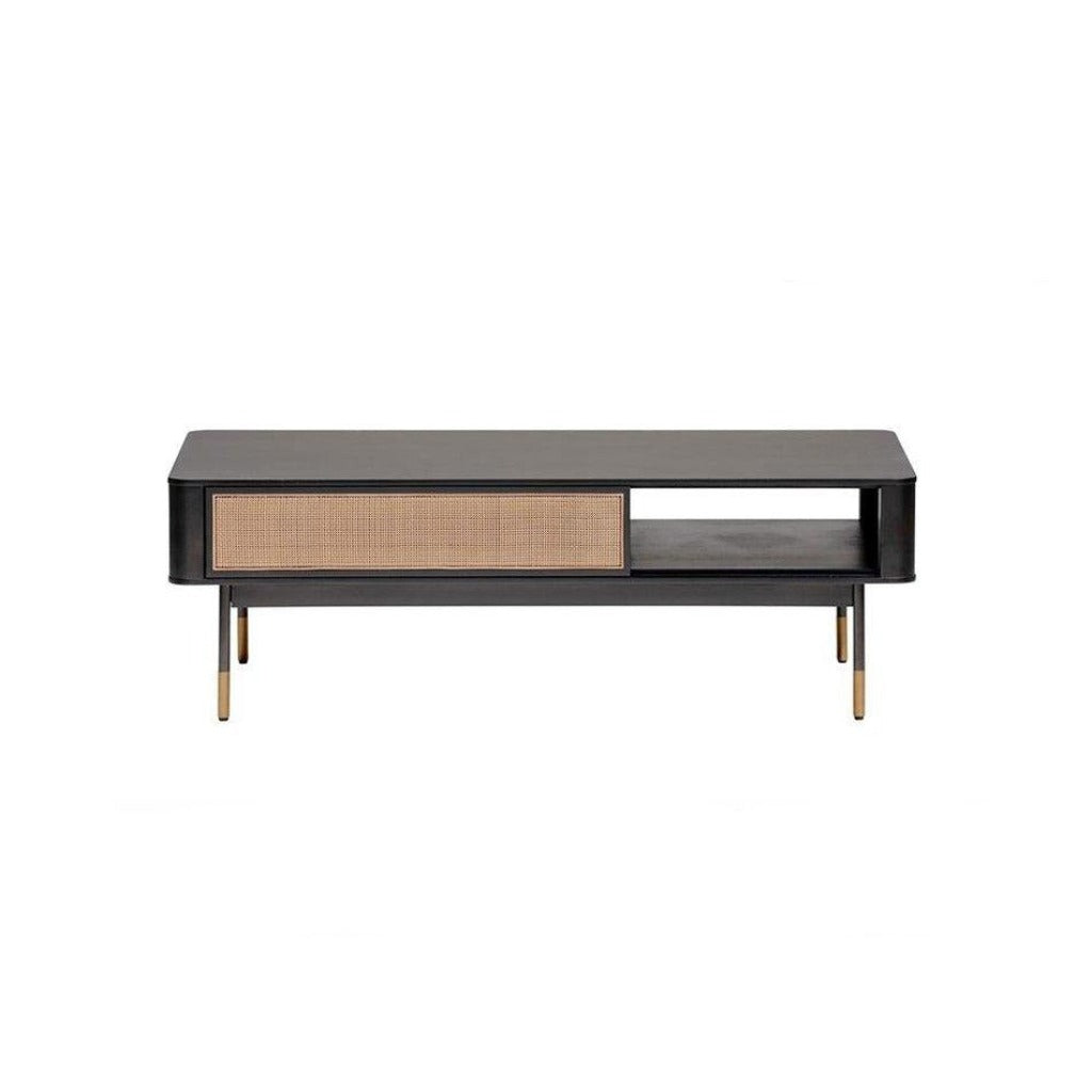 "Agnes 47"" Coffee Table in Black"