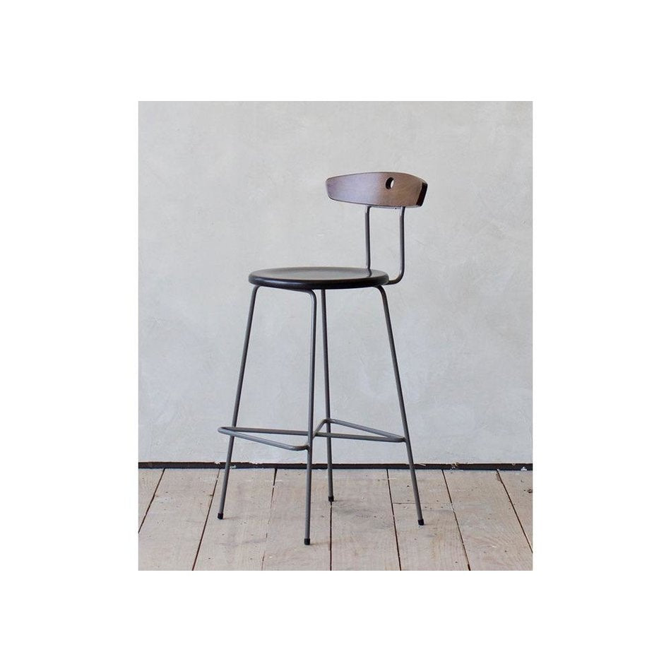 Anna Counter Stool w/ Iron Base