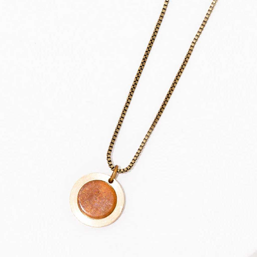 Brene Necklace in Sunstone
