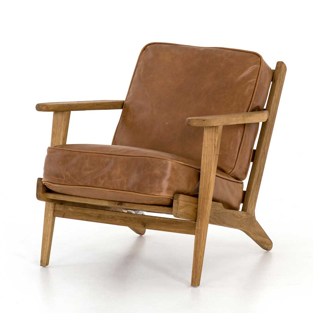 Brooks Chair in Palomino Leather
