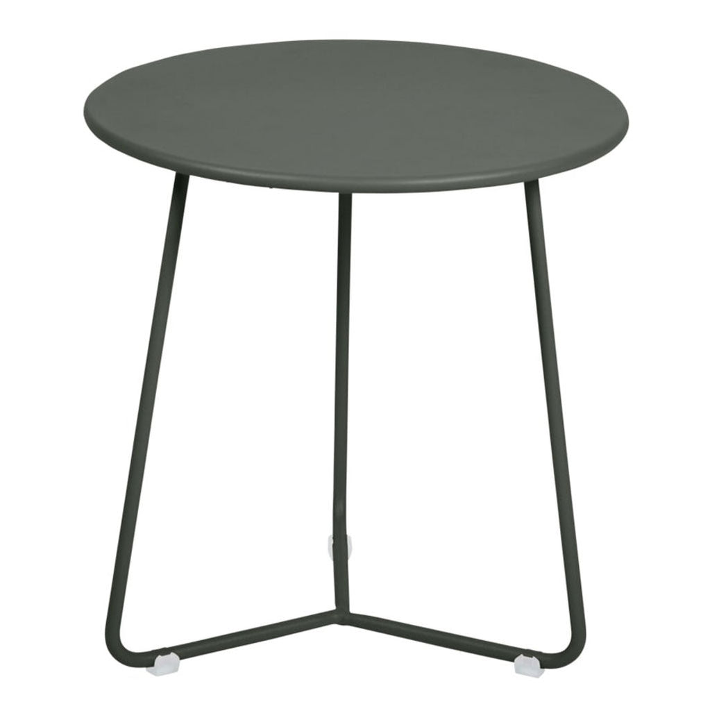 Fermob Cocotte Outdoor Small Side Table in Rosemary
