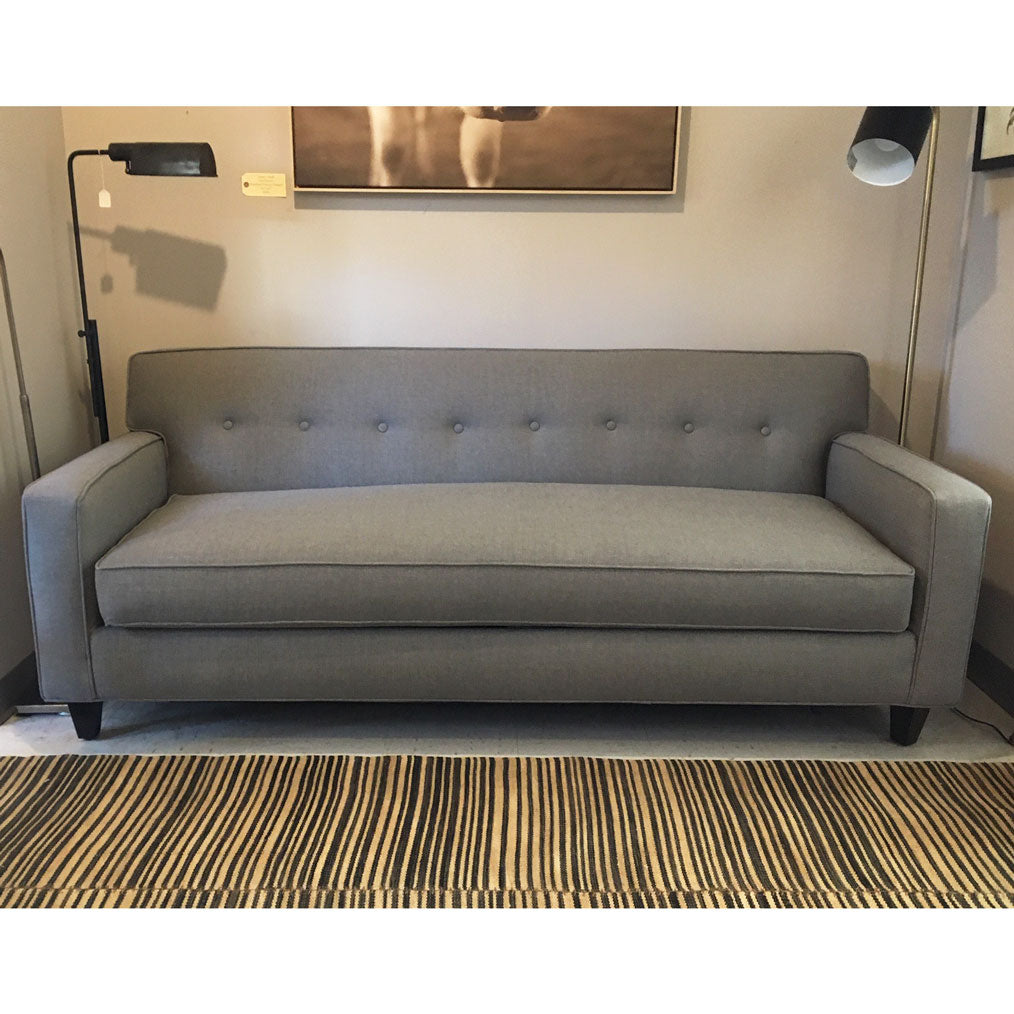 "Darby 80"" Sofa in Kid Proof Mushroom"