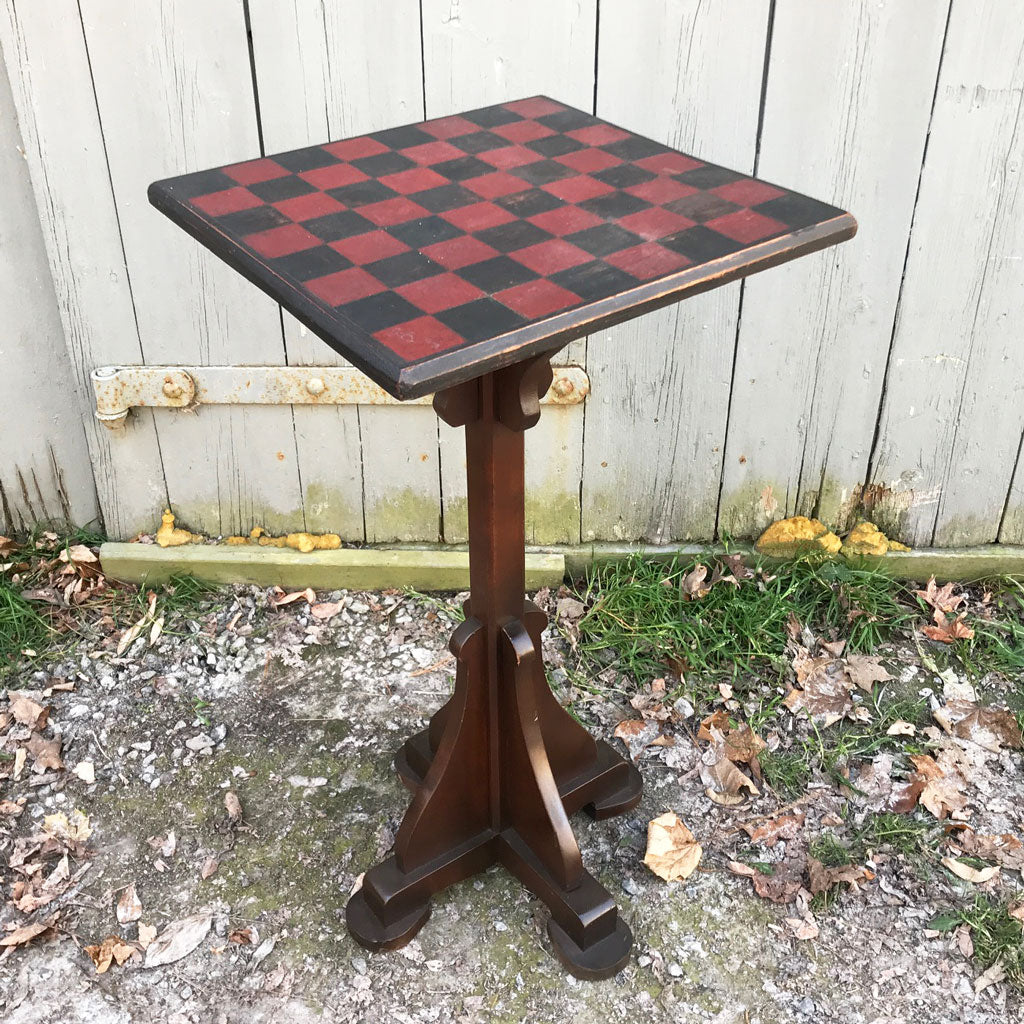 Vintage Game Board Candle Stand
