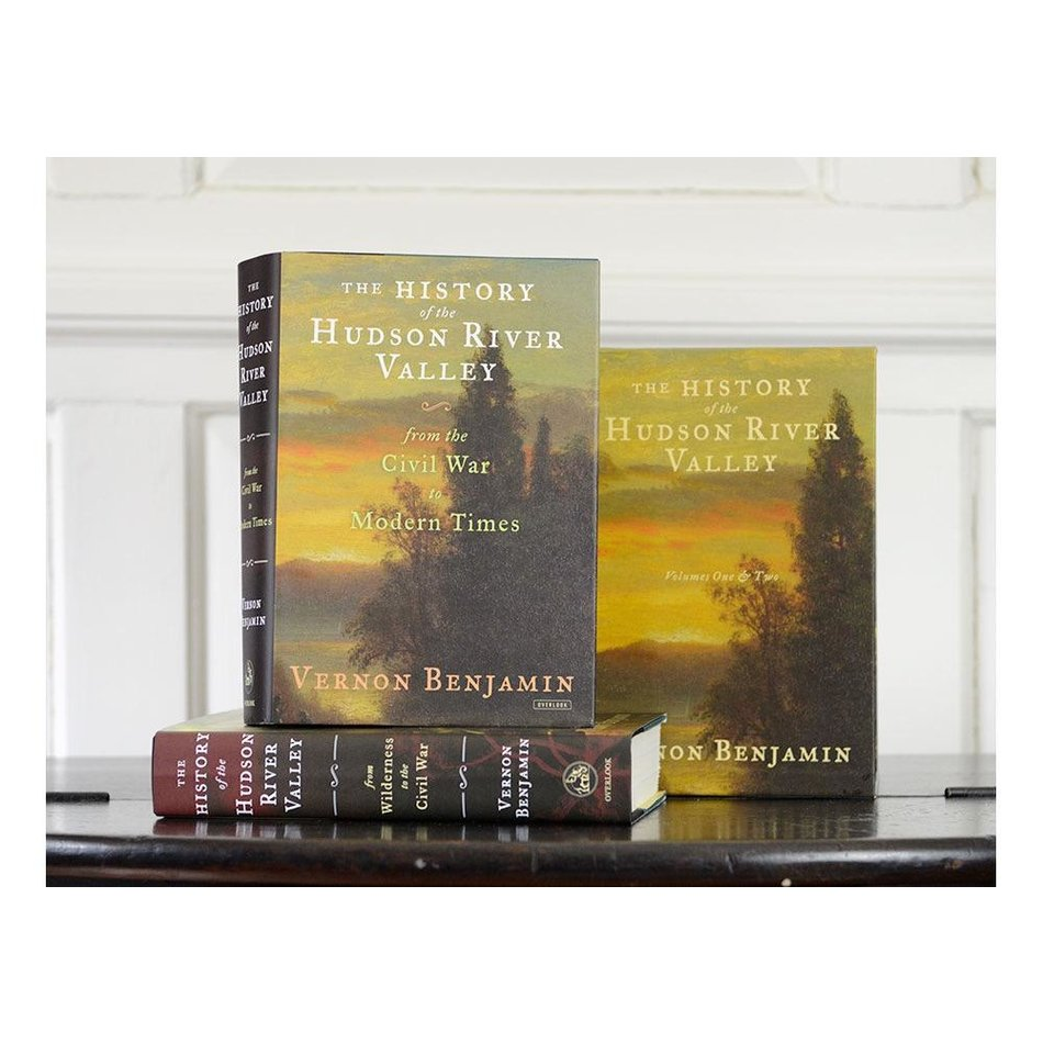 History of the Hudson Valley Volumes One and Two Boxed Set by Vernon Benjamin