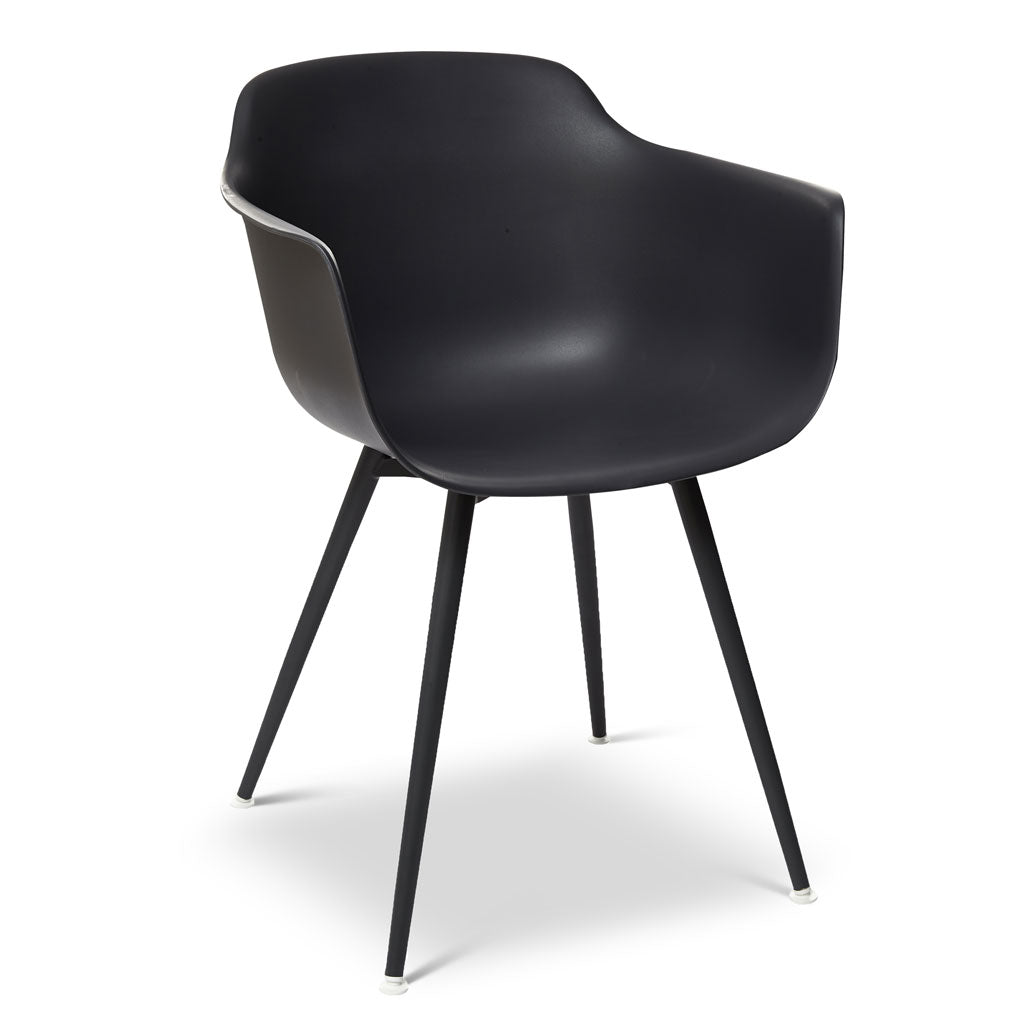 Jacquie Arm Chair in Black