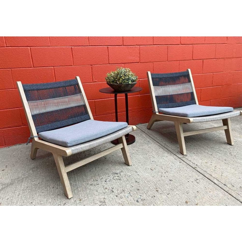 Jasper Indoor/Outdoor Chair in Brown