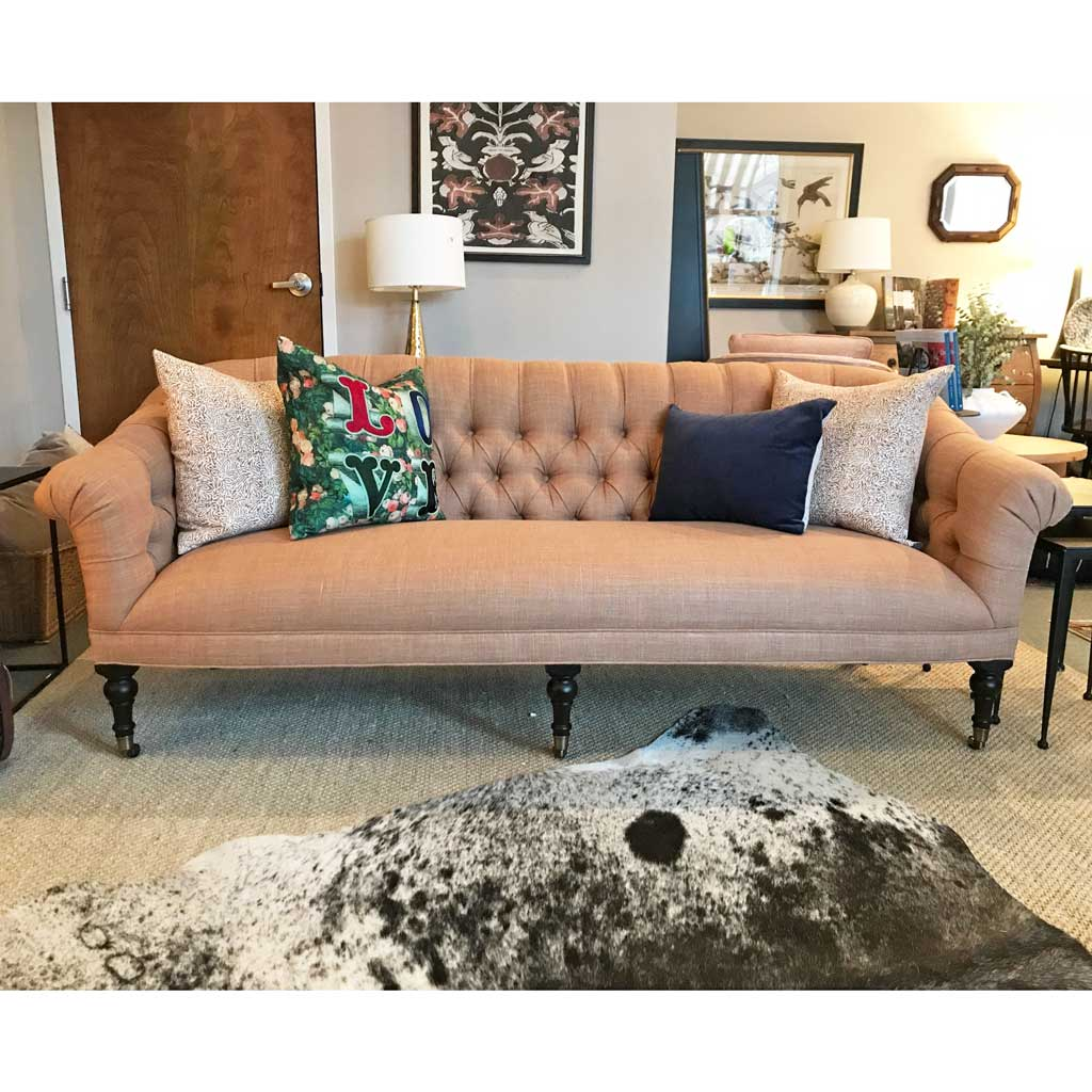 Joan Sofa in Sahara Apricot by Lee Industries
