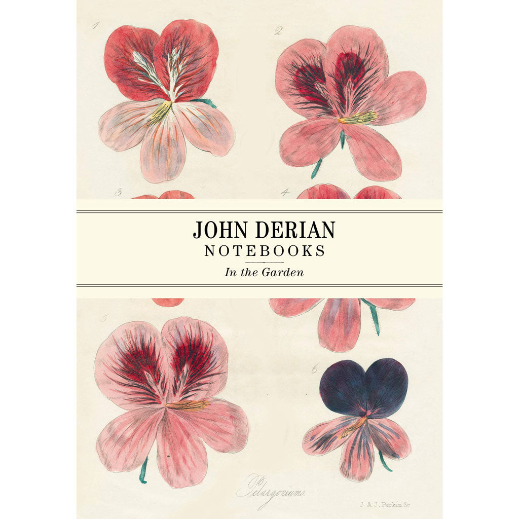 John Derian Paper Goods: In the Garden Notebooks