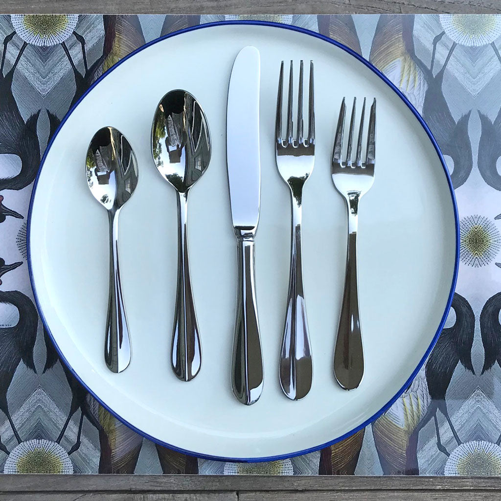 Lancer Stainless Steel Flatware, Service for 8