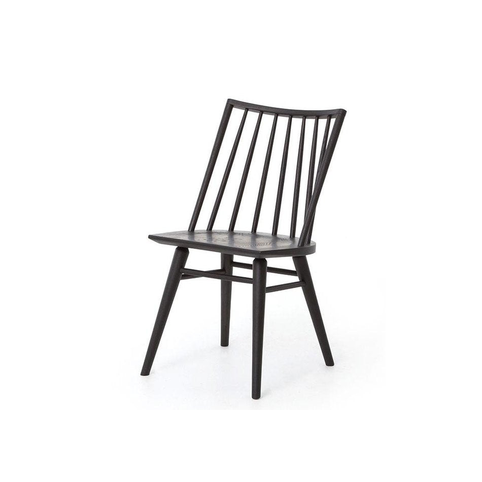 Lewis Oak Windsor Dining Chair in Black Oak