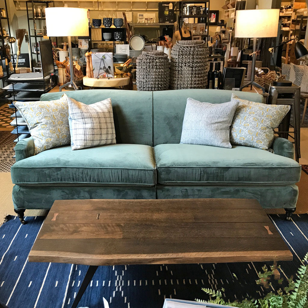 London Sofa in Vivid Fern by MGBW