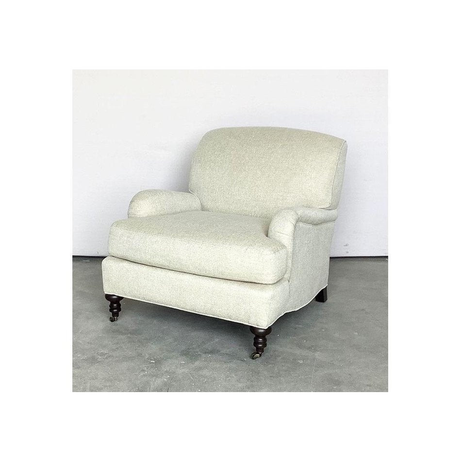 Lori Tailored Chair in Amalfi Cream by Lee Industries