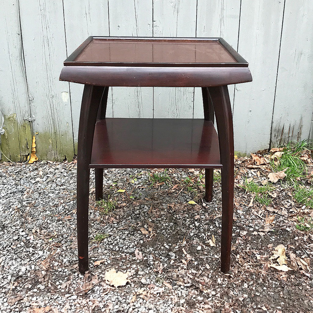 Mid Century Modern Occasional Table w/ Arched Legs