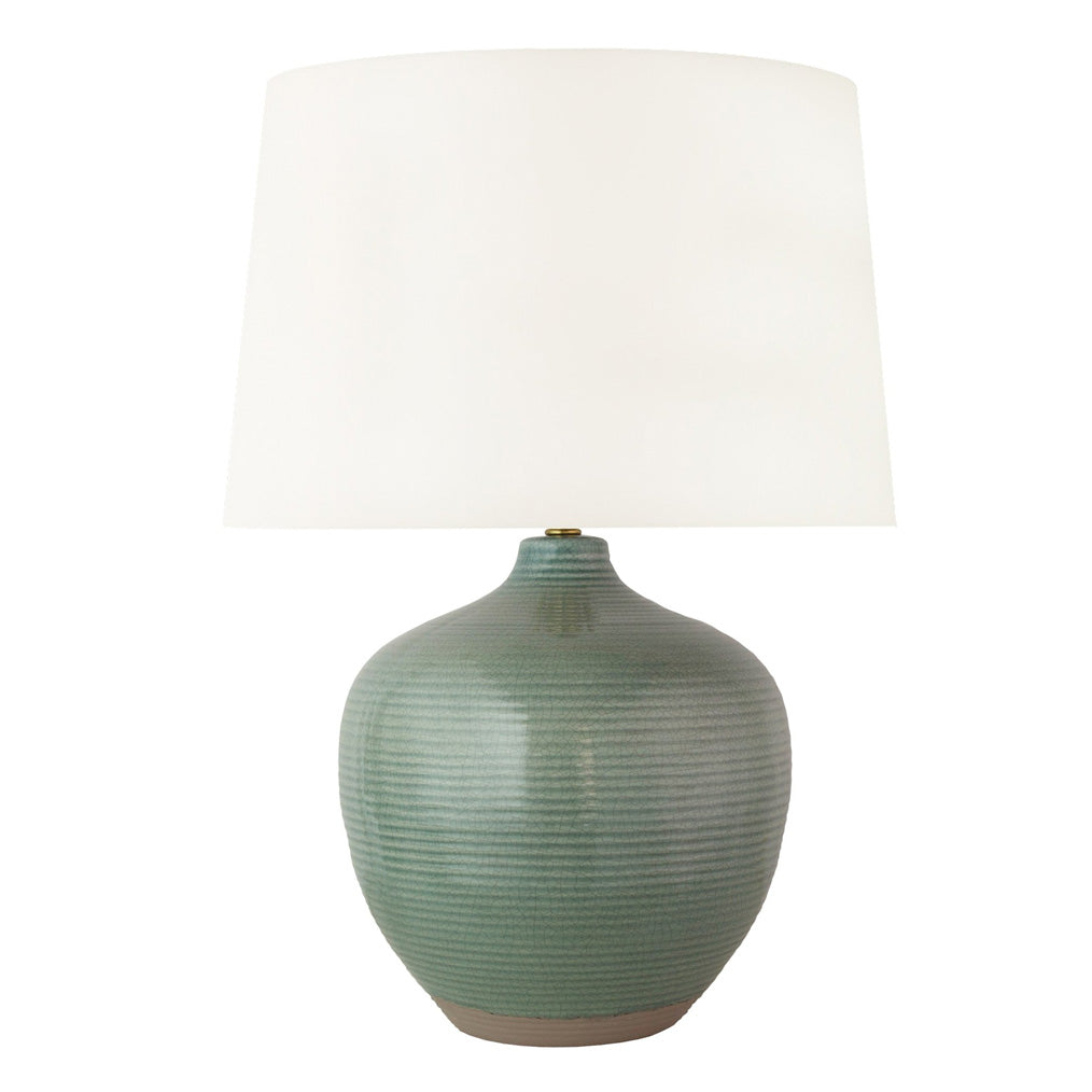 Montgomery Table Lamp in Pacific Green
