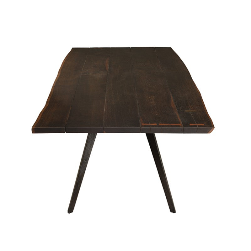 "Nelson 94.5"" Dining Table in Seared Black"