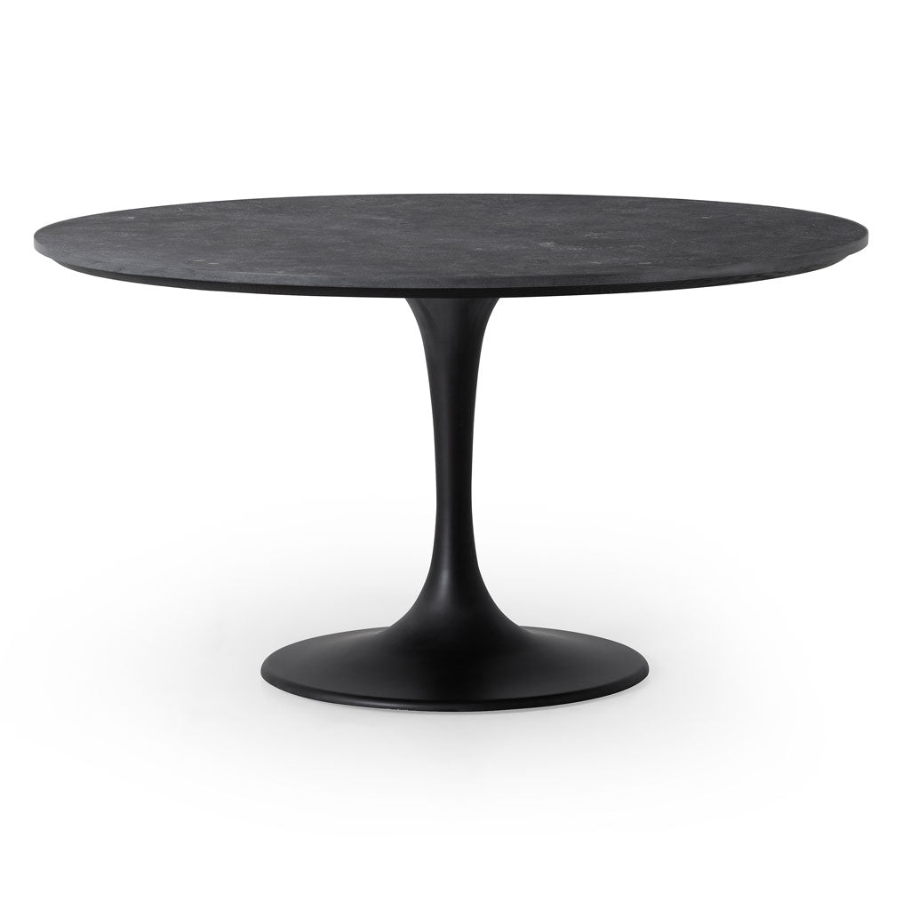 "Pilu 55"" Round Dining Table in Bluestone"