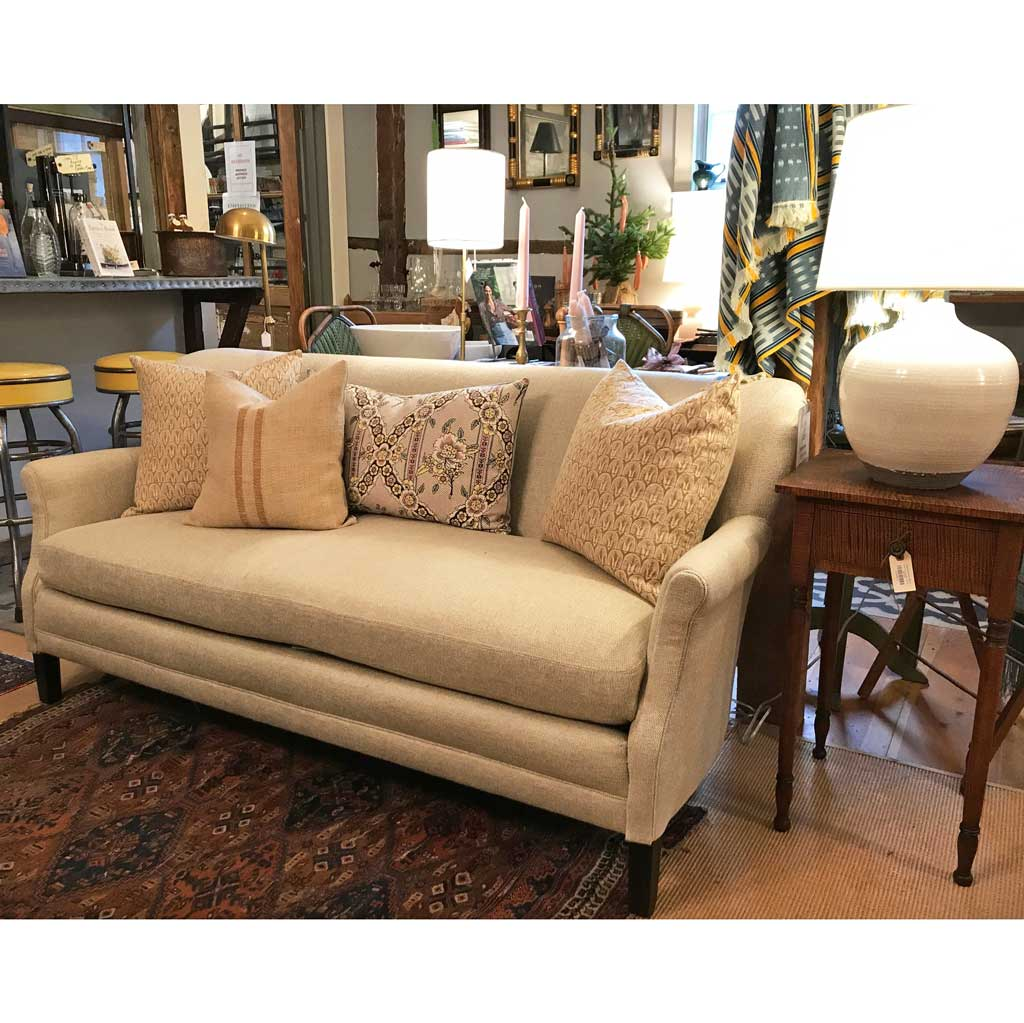 Pippa Apartment Sofa in Amalfi Cream by Lee Industries
