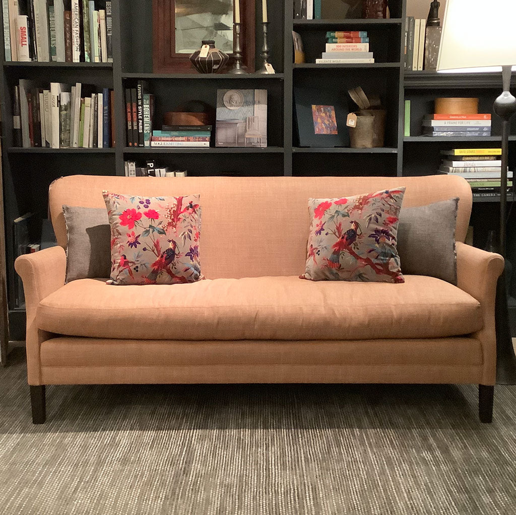 Pippa Apartment Sofa in Sahara Apricot by Lee Industries