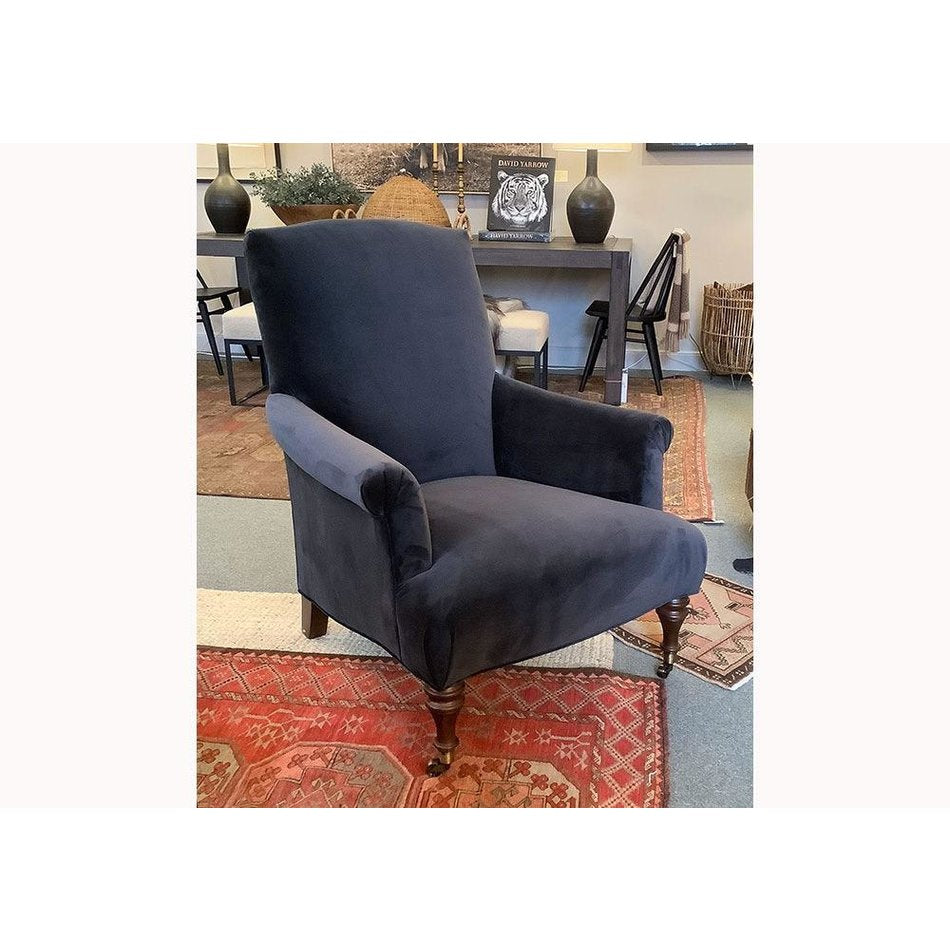 Rebecca Chair in Vivid Charcoal by MGBW