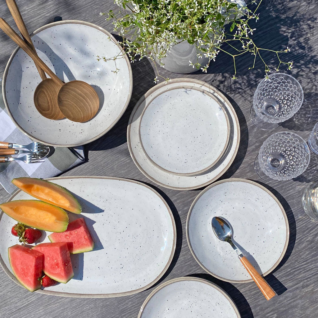Retreat Melamine Pottery Dinnerware