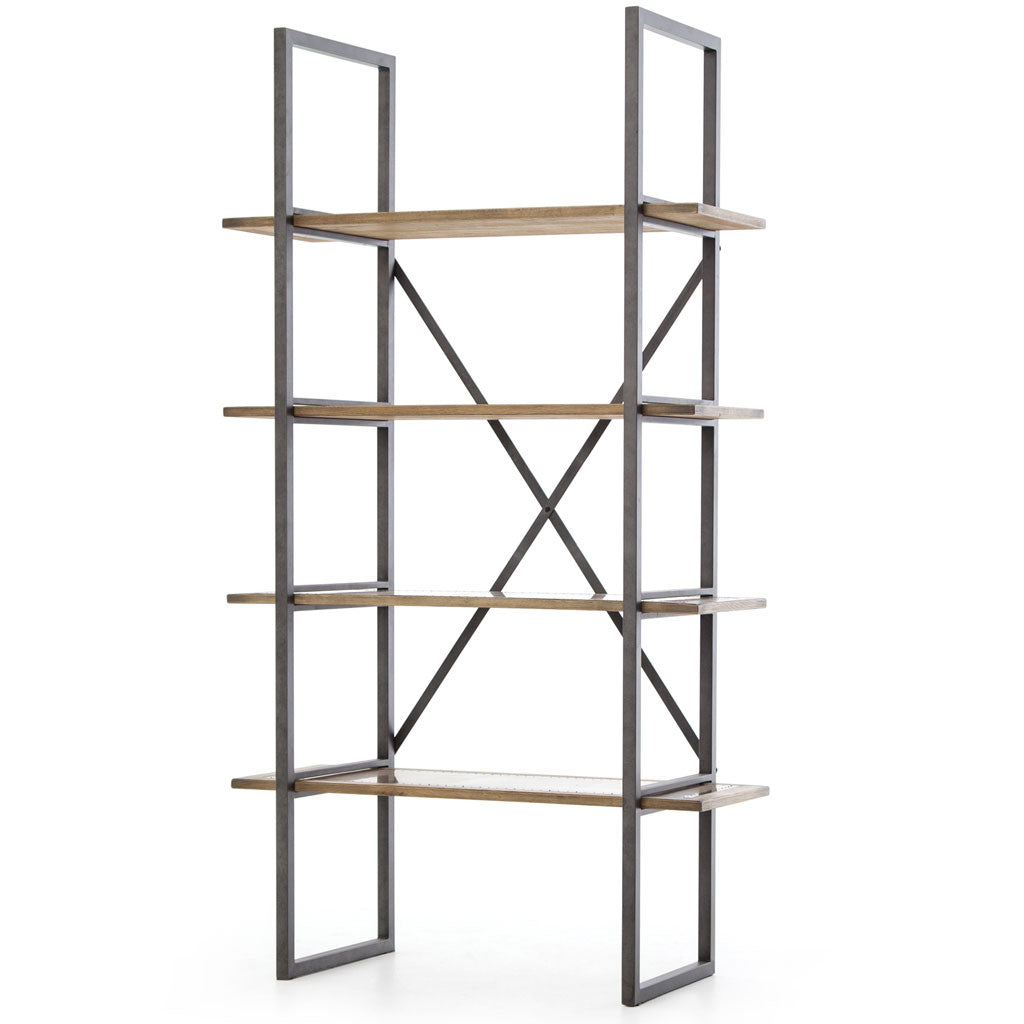 Sadie Single Bookcase