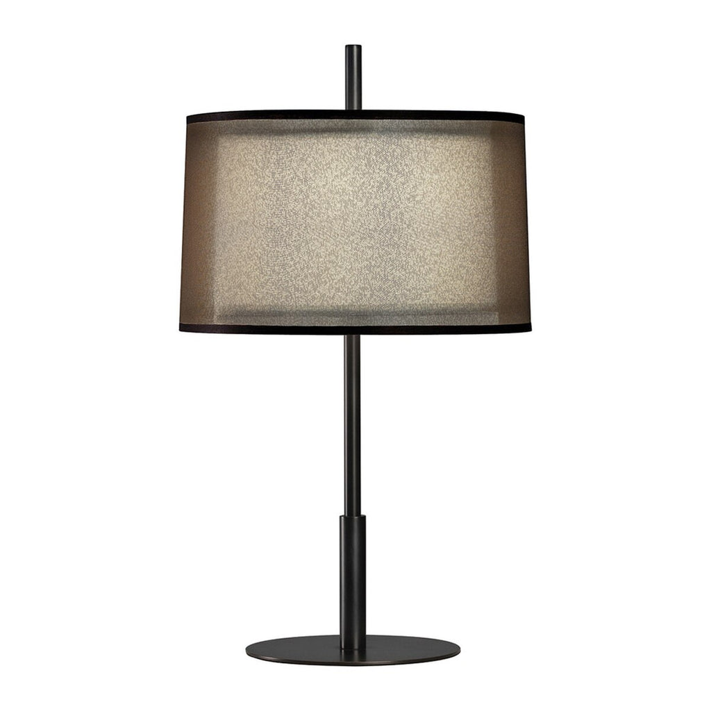 Saturnia Accent Lamp in Deep Patina Bronze