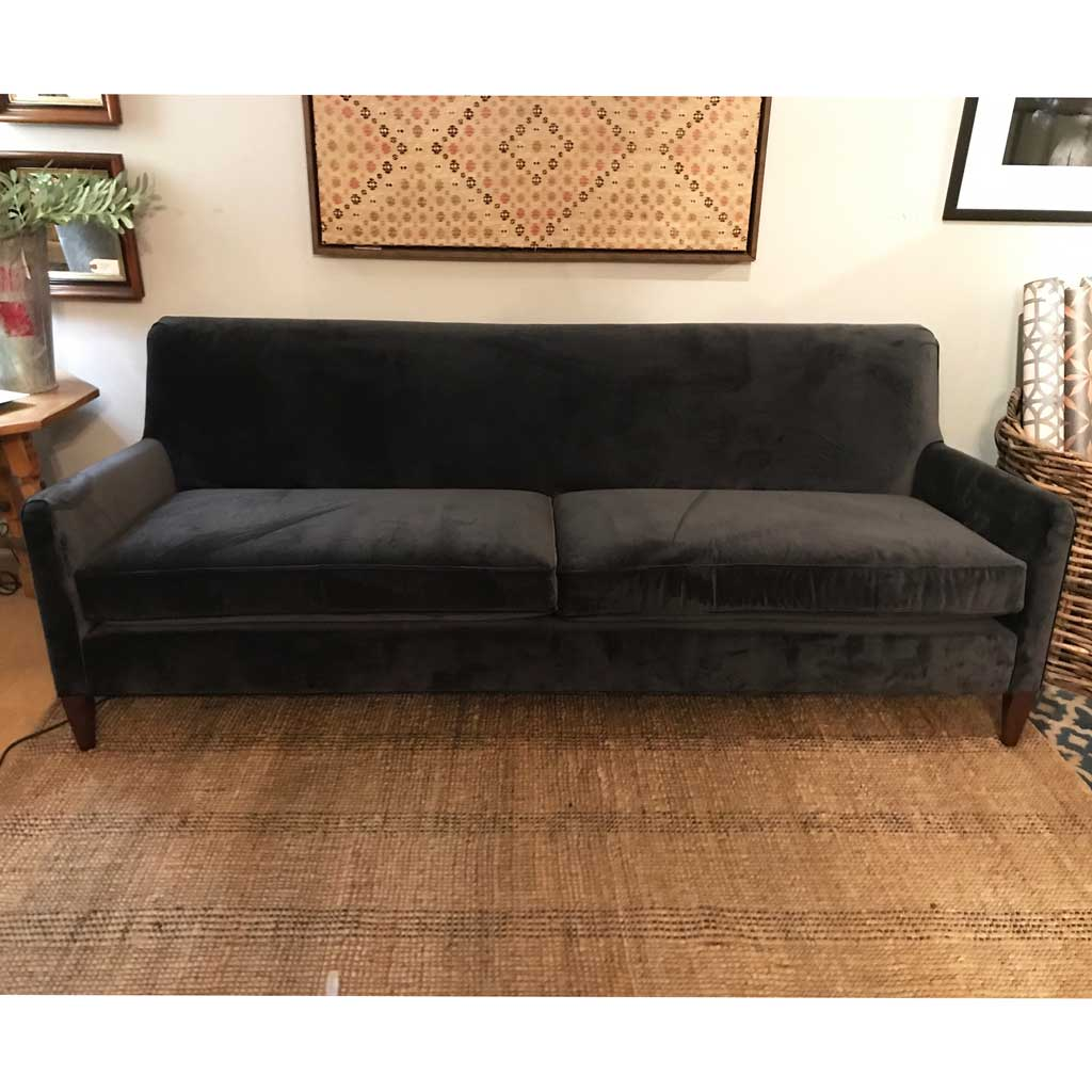 "Sloane Tailored 84"" Sofa in Vivid Charcoal by MGBW"