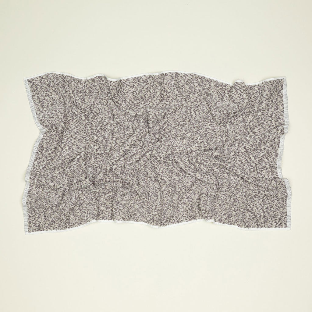 Hawkins, NY Space Dye Terry Towels in Grey